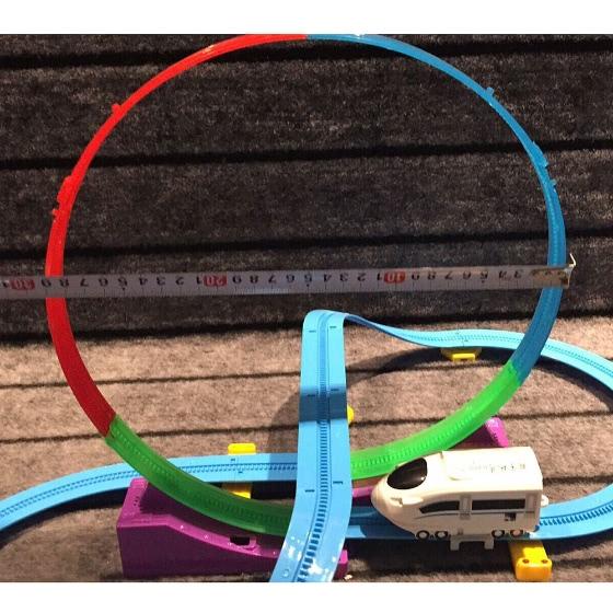 track racer racing car rail car lectrique batterie piste propuls bricolage set de jouets pour. Black Bedroom Furniture Sets. Home Design Ideas