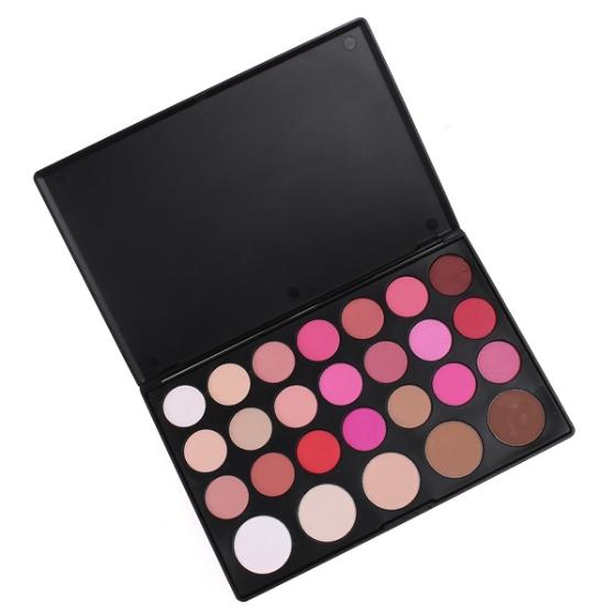 26 color makeup blush blusher powder pressed powder palette cosmetic. Black Bedroom Furniture Sets. Home Design Ideas