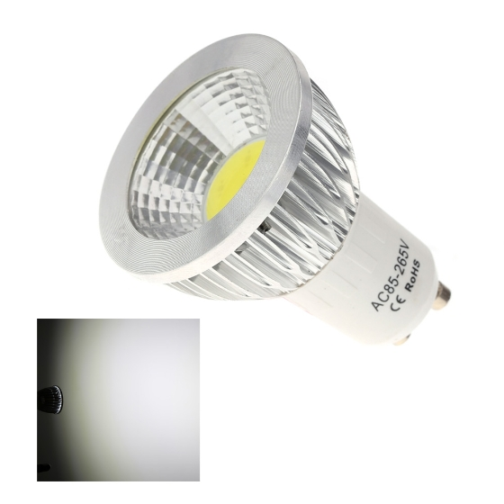 gu10 5w pfeiler led scheinwerfer leuchten lampen birnen. Black Bedroom Furniture Sets. Home Design Ideas