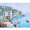 Frameless-DIY-Digital-Oil-Painting-16-*-20-Harbour-View-Hand-Painted-Cotton-Canvas-Paint-By-Number-Kit-Home-Office-Wall-Art-Paintings-Decor