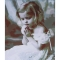 Frameless-DIY-Digital-Oil-Painting-16-*-20-Little-Girl-Hand-Painted-Cotton-Canvas-Paint-By-Number-Kit-Home-Office-Wall-Art-Paintings-Decor