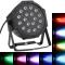 DMX-512 RGB LED etapa PAR luz