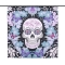 71*71-Skull-Pattern-Shower-Curtain-Size-180*180cm-Polyester-Fabric-Water-Resistant-Bath-Curtain-with-12-C-Ring-Hook