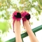 Fashion-Summer-Women-Flat-Sandal-Slingback-Shoes-Flats-Rose