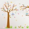 Tree-Squirrels-2pcs-Wall-Stickers-Art-Decals-Mural-DIY-Wallpaper-for-Room-Decal-60-*-90cm